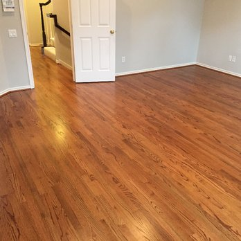 Hardwood Floor Waxing